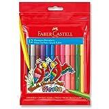Faber-Castell 5068312450 Fiesta Keçeli Kalem, 12 Renk