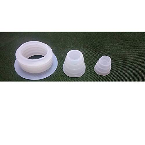 Hookah Sealant Rubber Grommets Shisha Spacer Hookah Water Pipe Sheesha 3pcs