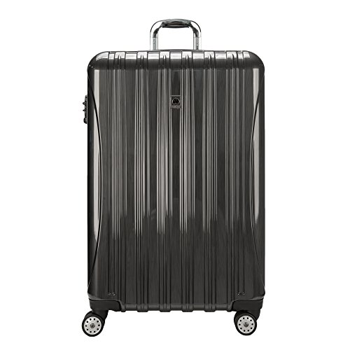 Delsey Luggage Helium Aero 29 Inch Expandable Spinner Trolley, One Size - Brushed Charcoal