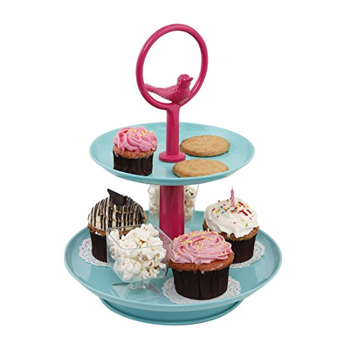 galvanized cake pedestal - 6