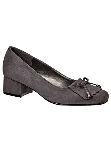 AngelSteps Womens Adult Angel Steps Braylee Pumps Dress Gray LhGp4x