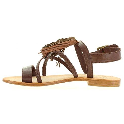 Sandalias de Mujer MTNG 94438 C24153 GOAT MOKA
