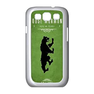 Samsung Galaxy S3 9300 Cell Phone Case White_Game Of Thrones House Mormont Tsolf
