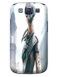 fashionable Assassin's Creed Hot Sale Plastic samsung galaxy Case Cover for s3