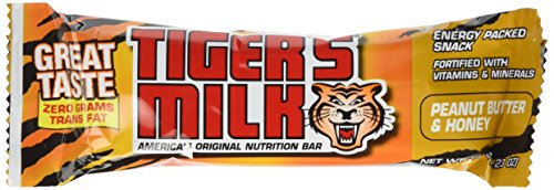 Cheap Weider Tiger's Milk Nutrition Bar, Peanut Butter 24-35 g (1.23 oz) bars
