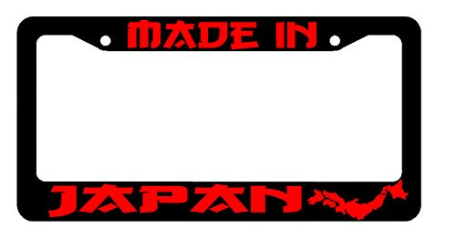 JDM Racing Drifting Dope Low RED Art License Plate Frame ()