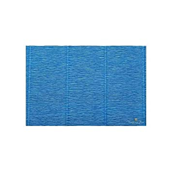 557 Steel Blue Premium Italian Crepe Paper Roll Heavy-Weight 180 gram