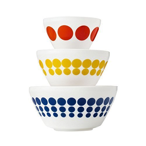 Safe Pyrex Microwave (Pyrex Vintage Charm Spot On 3 Piece Mixing Bowl Set, inspired by Pyrex)