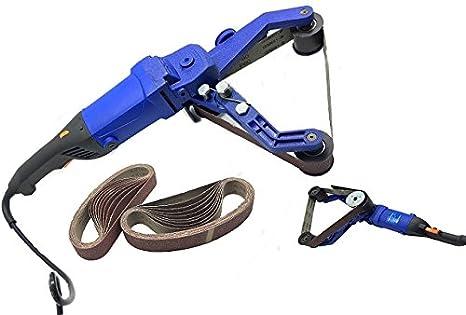 Amazon.com: hpg-331 multifunción Cinturón Pipe Tube Pulidora ...