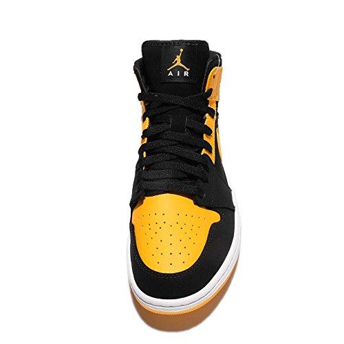 Nike Air Jordan Shoes 1 Metà Degli Uomini Di Pallacanestro Nero
