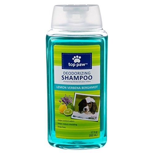 TOP PAW Lemon Verbena Bergamot Super Deodorizing Dog Shampoo, 17FL OZ