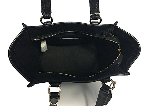 Satchel Leather Crosby Coach Crossgrain Black Mini Crossbody xTIgwq5IH