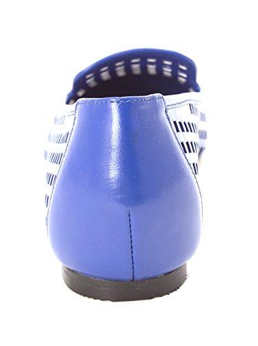 Cole Haan Womens 14A4146 Cap Toe Slide Flats Bristol Blue 6Ims2m