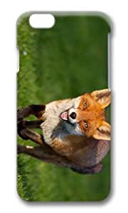 MOKSHOP Adorable Fox Running Hard Case Protective Shell Cell Phone Cover For Apple Iphone 6 (4.7 Inch) - PC 3D