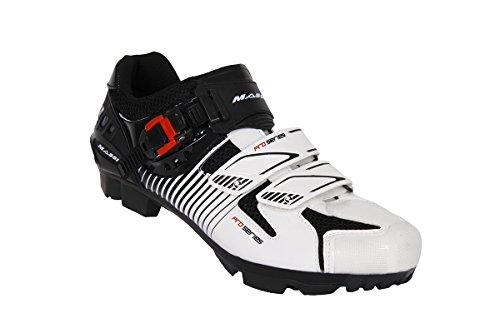 Massi Hydra - Zapatillas de ciclismo MTB unisex Multicolor / Blanco