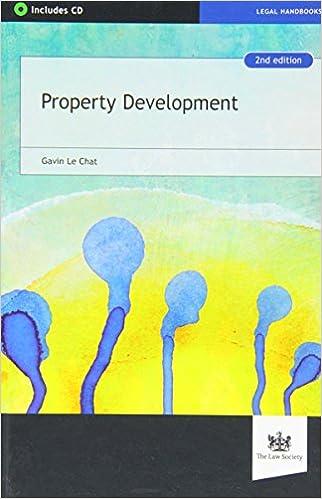 Property Development Amazon Gavin Le Chat 9781907698934 Books