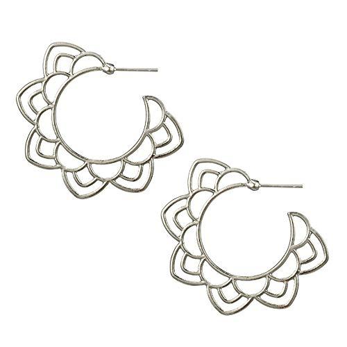 Lucite Pierced Earrings (Fashion Simple Earrings for Women Alloy Earrings Ear Ring Combination)