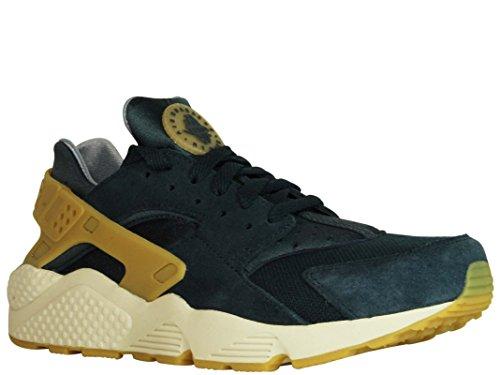 Nike Homme 852628077Z Bleu/Jaune Suède Baskets