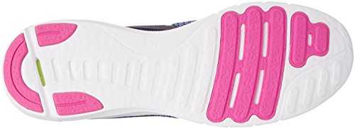 Asics Nitrofuze 2, Zapatillas de Entrenamiento Para Mujer Azul (Persian Jewel/glacier Grey/pink Glow)