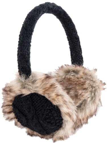 Nirvanna Designs EA03 Cable Earmuffs with Faux Fur, Black by Nirvanna Designs