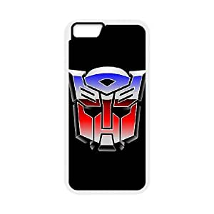 iPhone 6 Plus 5.5 Inch Cell Phone Case White Transformers Hard 3D Phone Case Cover XPDSUNTR35298