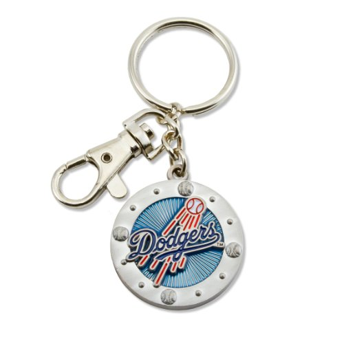 MLB Los Angeles Dodgers Impact Keychain (Los Angeles Dodgers Key Ring)