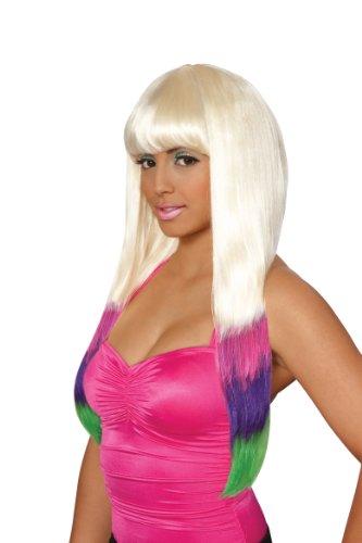 California Costumes Women's Carnival Wig, Multi, One Size (Carnivale Costume Ideas)