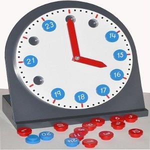 Montessori Reloj Con Manecillas Movibles Sensorial Amazones
