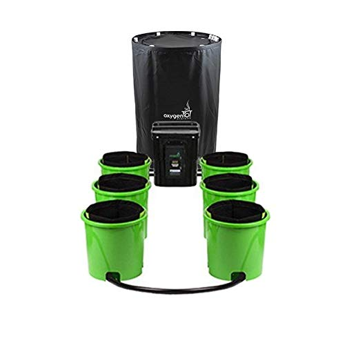 Oxygen Pot Systems 6 Bucket XL Ebb and Flow Hydroponic System -