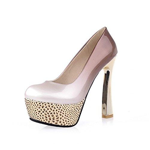 Heeled Mujer de Sandalette High Zapatos DEDE Super apricot 4w4TqO