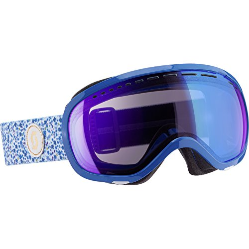 Scott 2015/16 Off-Grid Winter Snow Goggles - Illuminator Blue Chrome Lens - 239989 (Liberty Blue - Illuminator Blue Chrome Lens)