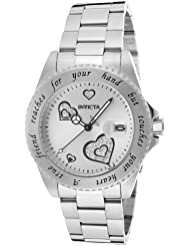Invicta Womens 14729 Angel Analog Display Japanese Quartz Silver Watch