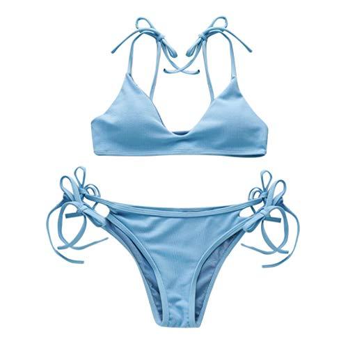 Aolity Vintage Swimwear, Women Private Label Swimsuit Sexy Girl Bikini ()