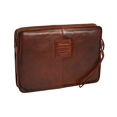 Leather Sleeve Shoreditch Ashwood Brown Laptop 6ax7wapq