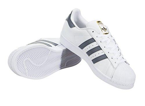 Herren Weiß Superstar adidas Grau Fitnessschuhe Uw0qqX