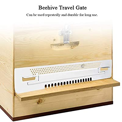 Delaman Beekeeping Gadget Equipment - Beehive Sliding Mouse Guards Travel Gate Tool : Garden & Outdoor