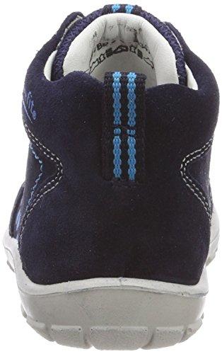 Superfit Baby Jungen Softtippo Sneaker Blau (Ocean Kombi)