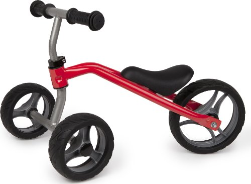Preschool Trikes (Hape Little Red Balance Bike Tricycle Toddler Ride On)