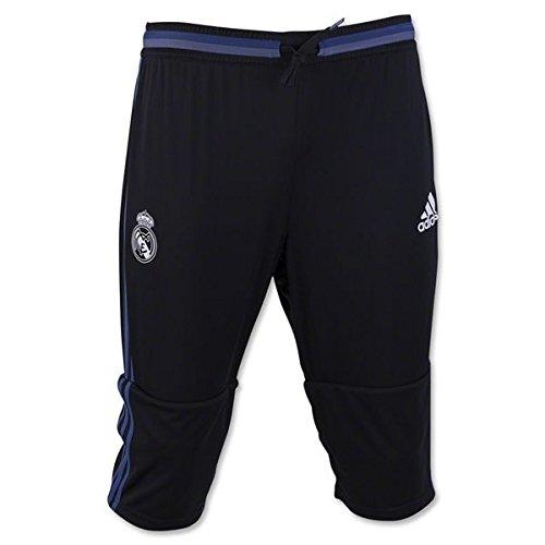 Adidas Real Madrid Training - adidas Real Madrid 16/17 3/4 Black/SupPur Pants (M)