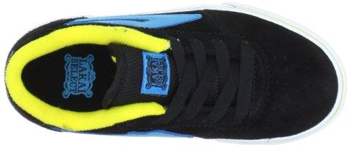 Lakai MANCHESTER KIDS KS3120200A00 Herren Fashion Sneakers Schwarz (BLACK CYAN SUEDE A0021)