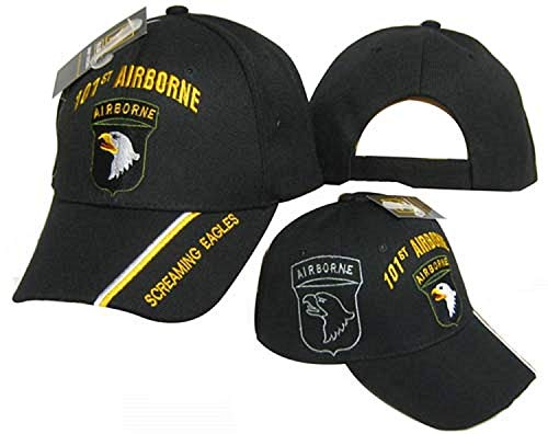101st Airborne DIV Division Screaming Eagles Licensed Embroidered Cap Hat