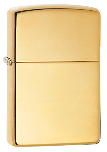 Zippo Armor  High Polish Brass Pocket Lighter