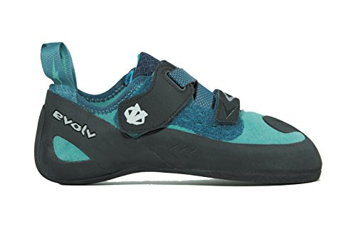 Evolv Kira Climbing Shoe - Women's Teal 7
