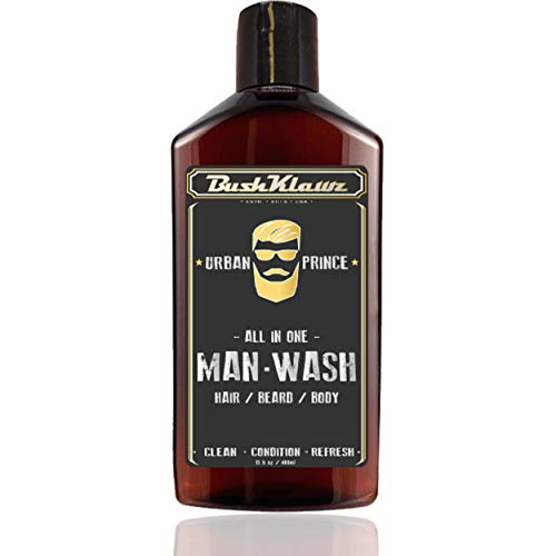 BushKlawz Man Wash (13.5 oz, Urban Prince)