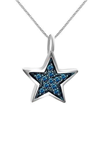 Diamond Star Necklace - 7
