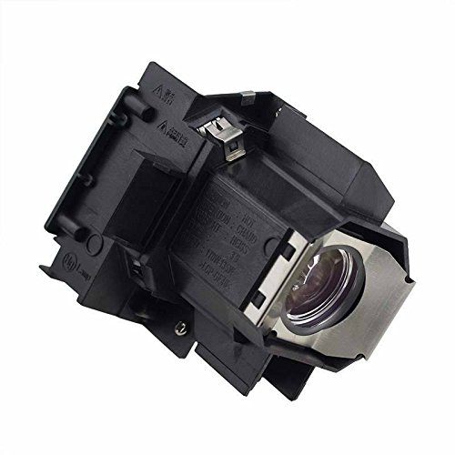 Supermait EP35 Lampada sostitutiva per proiettore con alloggiamento per Epson Elplp35, adatta per EMP-TW520 / EMP-TW600 / EMP-TW620 / EMP-TW680 / PowerLite PC 800 / PowerLite HC 550 / PowerLite HC 400