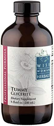 Wise Woman Herbals Tummy Glycerite 8 Oz Supports Normal Digestive System Function