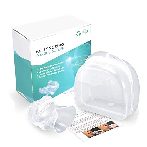 New%E3%80%91Anti Snoring Tongue Silicone Transparency product image