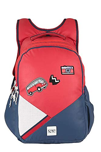 8dfb61c88db20 Wildcraft Wiki Girl 2 Badge Backpack Red (11993 Red): Amazon.in: Bags,  Wallets & Luggage