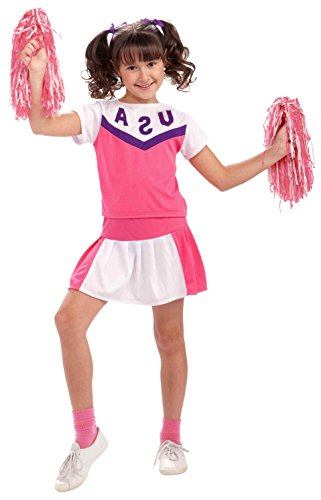 Plus Size Cheerleader Uniforms (Forum Novelties Classic Cheerleader Uniform Costume, Child)
